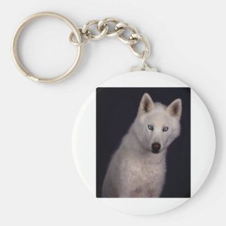 Out of the darkness basic round button key ring
