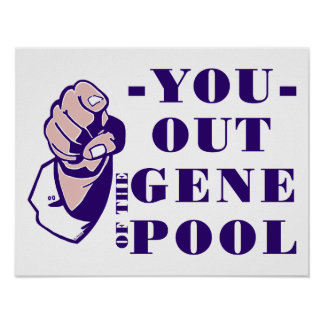 Out of the Gene Pool Poster