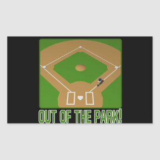 Out Of The Park Stickers
