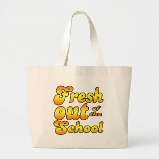 Out of the School Jumbo Tote Bag