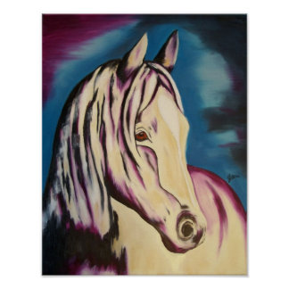 Out of the Storm Fine Equestrian Art Print