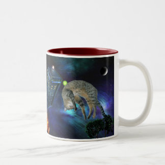 Out Of This World cat mug