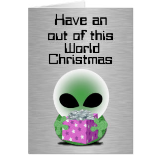 Out of this World Christmas Card