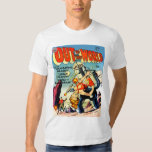OUT OF THIS WORLD Cool Vintage Comic Book Cover Tshirt