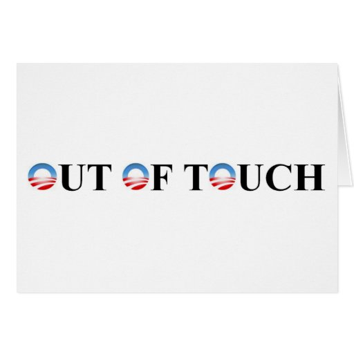 OUT OF TOUCH CARD