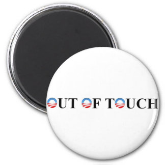 OUT OF TOUCH 6 CM ROUND MAGNET