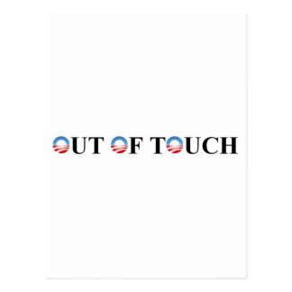 OUT OF TOUCH POSTCARD