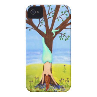 """""""Out Of Water"""" Mermaid Art iPhone 4 Case-Mate Case"""