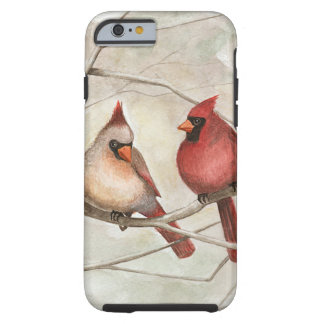 """""""Out on a Limb"""" Cardinal iPhone Case"""