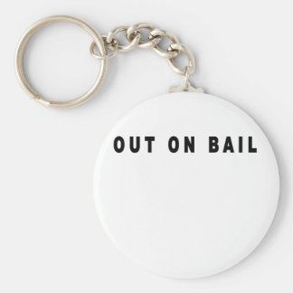 Out On Bail T Shirts.png Key Chains