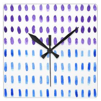 Out & Out Watercolour Wallclock