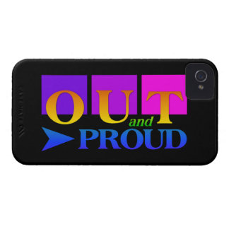 Out & Proud iPhone 4 Case-Mate