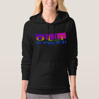 OUT & PROUD shirts, hoodies & jackets