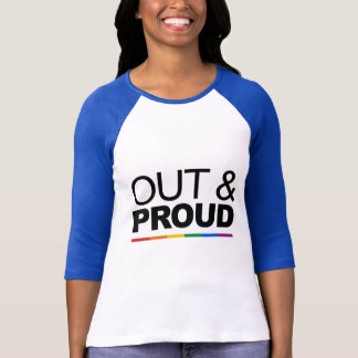OUT & PROUD T-Shirt