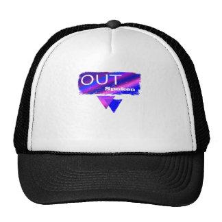 Out Spoken Bisexual Trucker Hat