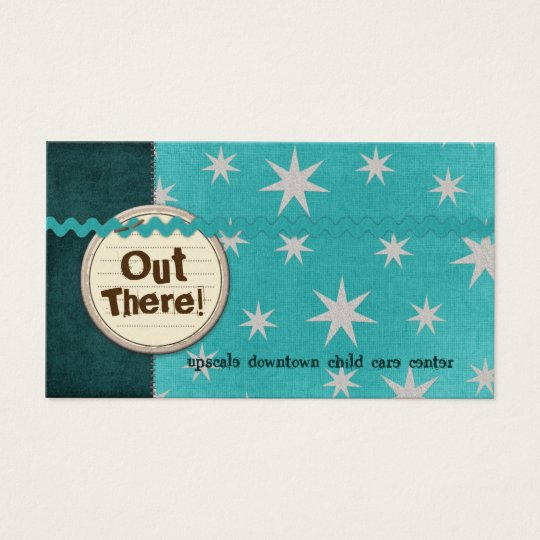 Out There Business Cards