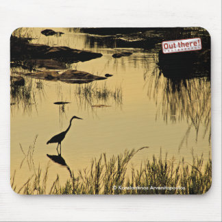 Out there! Photography Mouse Pad
