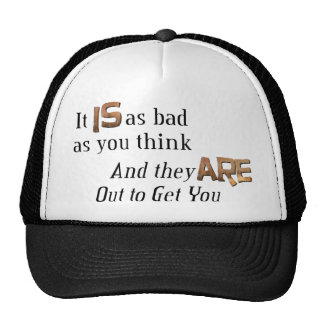 Out to Get You Mesh Hat