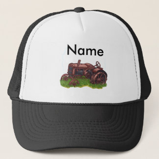 Out To Pasture Farmer Trucker Hat