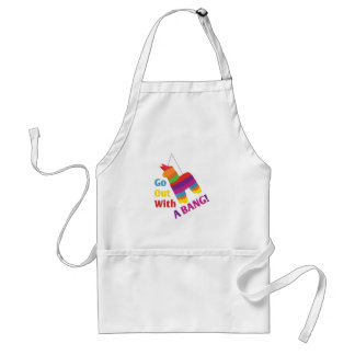Out With A Bang Standard Apron