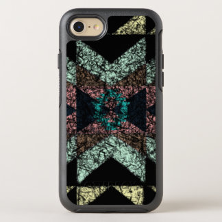 Out-worn tribal pattern. OtterBox symmetry iPhone 8/7 case