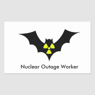 Outage Worker Rectangular Sticker