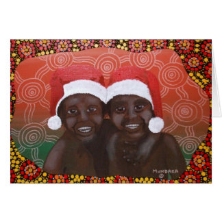 Outback Boys Merry Christmas Card