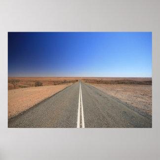 Outback Road, Australia - Poster, Landscape Poster