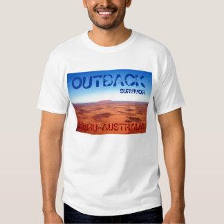 OUTBACK SURVIVOR, ULURU AUSTRALIA TEE SHIRT