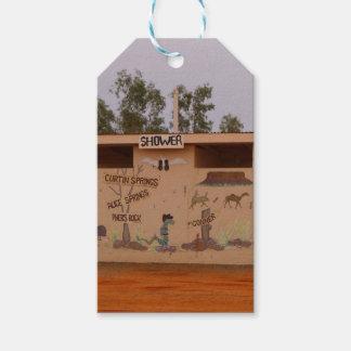 Outback toilet block, Australia Gift Tags