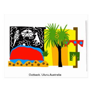 Outback/Uluru -Postcard Postcard