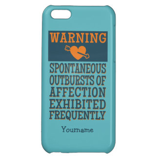 Outbursts of Affection custom cases iPhone 5C Cases