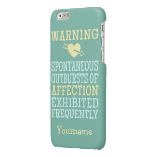 Outbursts of Affection custom cases iPhone 6 Plus Case
