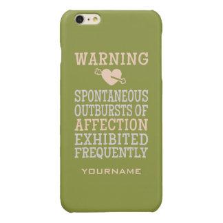 Outbursts of Affection custom monogram cases iPhone 6 Plus Case
