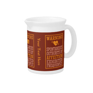 Outbursts of Affection custom pitcher
