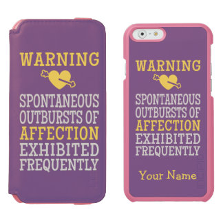 Outbursts of Affection custom wallet cases Incipio Watson™ iPhone 6 Wallet Case
