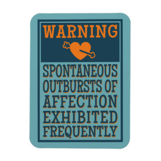Outbursts of Affection magnet