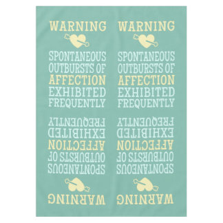 Outbursts of Affection table cloths