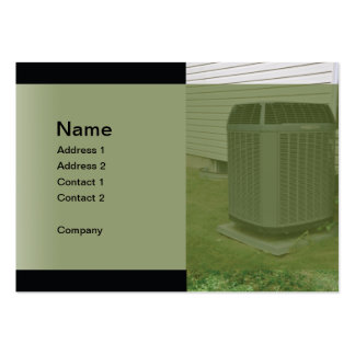 Outdoor air conditioner unit business cards