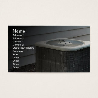 outdoor air conditioner unit business card