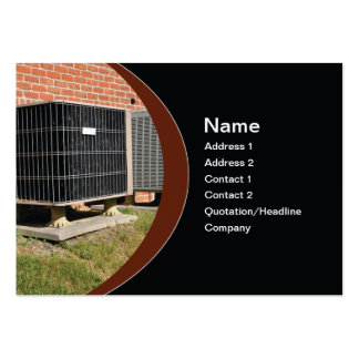 outdoor air conditioner unit pack of chubby business cards