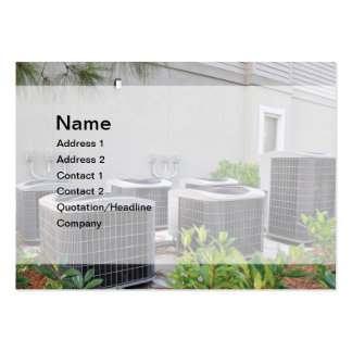 outdoor air conditioner units pack of chubby business cards