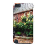 Outdoor Cafe With Hydrangea iPod Touch (5th Generation) Cases