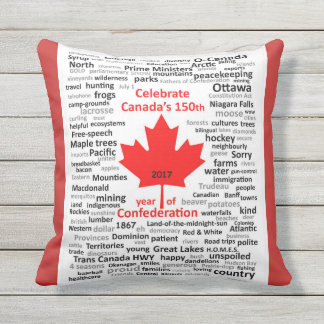 "Outdoor Canada 150 Pillow 16""x16"""