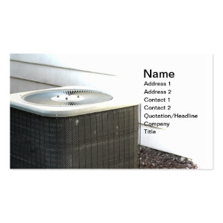 outdoor central air conditioner unit pack of standard business cards