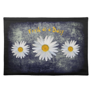 "Outdoor Dining ""Fresh as a Daisy"" Placemat"