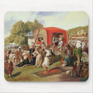 Outdoor Fete in Turkey, c.1830-60 Mouse Mat
