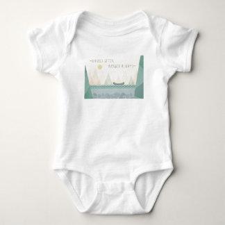 Outdoor Geo I | Wander Often, Wonder Often Baby Bodysuit