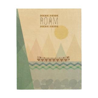 Outdoor Geo II | Roam Wood Print