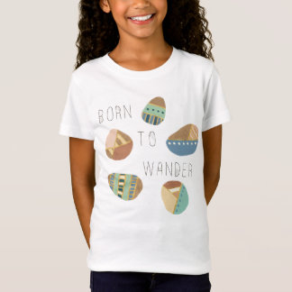 Outdoor Geo IX | Born to Wander T-Shirt